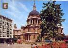 London - St.paul's Cathedral - Viaggiata Formato Grande Grande - St. Paul's Cathedral