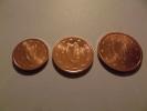 1, 2 Et 5 Centimes D´euros Irlande 2003 - Ireland