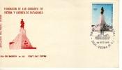 FUNDACION DE VIEDMA Y CARMEN  DE PATAGONES   1979 2 DO CENTENARIO SOBRE 1ER  DIA DE EMISION  0HL - Argentine