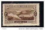 1925 LEBANON MICHEL NR. 65 MINT LIGHTLY HINGED - Lebanon