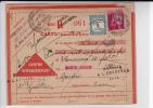 1933 - PAIX PERFORE - CARTE LETTRE RECO CONTRE REMBOURSEMENT De TOULOUSE Pour RIVIERES (TARN) - RETOUR Avec TAXE - France