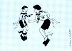 SCOUTISME ( ILLUSTRATEUR ANNE FRANCE DE MONTLEBERT ) BOY SCOUTS SCOUTISMO  TRES BON ETAT  ! ! ! - Scoutisme