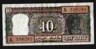 INDIA 10 RUPEES 1970-90 - India