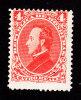 Honduras, Scott 35, Mint Hinged, President Francisco Morazan, Issued 1878 - Honduras