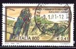 ITALIA - 2000 -  Usato - Turismo -  Foresta Fossile Di Dunarobba  - 800 L. - 0,41 € • Foresta Fossile Di Dunarobba - 1991-00: Oblitérés