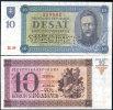 SLOVAKIA 10 KORUN 1939 P 6 SPECIMEN UNC - Slovaquie