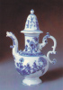 Porcelain Collection-Zwinger, -1735 Painted Rabbit Model. Rare Postcard, Unused. - Arts