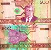 TURKMENISTAN 500 MANAT 2005 UNC P 19 - Turkménistan
