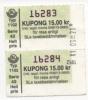 Alt029 Biglietto Autobus, Ticket Bus | Stoccolma, Stockholm | Billet Statens Lokal Traffic | Svezia, Sweden, Suede - Metropolitana