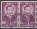 [21] PHILIPPINES - N° 541 X2 - OBLITERES - Philippines