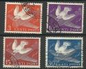 Estland Estonia Estonie 1940 Air Mail Flugpost Poste Arienne Michel 160-163 O - Estonia