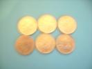 Six  Piéces De 2 Francs Argent ( 1  De 1898 - 1 De 1915  -  - 1 De 1917 - 3 De 1918  ) Envoi En R1 - France