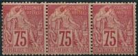 Colonies Générales (1881) N 58 * (charniere) Gomme Altéré - Alphée Dubois