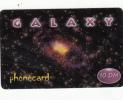 GERMANY - Galaxy Prepaid Card 10 DM, Used