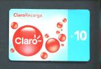 PERU  - Remote Phonecard As Scan - Peru