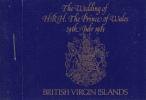 British Virgin Islands Gibbons #SB1 Booklet 1981 Royal Wedding - Iles Vièrges Britanniques