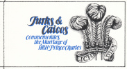 Turks & Caicos Gibbons #SB4 Booklet 1981 Royal Wedding - Turks & Caicos
