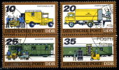 DDR - Michel 2299 / 2302 = SZd 149 + 150 - OO Gestempelt (A) - Posttransport - Oblitérés
