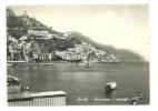 AMALFI - PANORAMA E SPIAGGIA -  VIAGGIATA      *(cam405) - Salerno