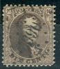 Belgique - No 14 Oblitéré LP 390,  Très Beau - 1863-1864 Medaillen (13/16)