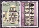 Malte 1992  YT 874+75  N** - Malta