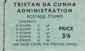 Tristan Da Cunha Gibbons #SB3 Booklet 1960 Queen Elizabeth II Scenics - Tristan Da Cunha