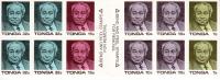 Tonga MNH Booklet Scott #659a King Taufa'ahau IV 20th Anniversary Of Coronation - Tonga (1970-...)