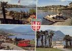 Lugano - 945-9 - Viaggiata Formato Grande - TI Ticino