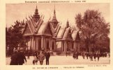 Cp , 75 , PARIS , Exposition Coloniale Internationale , 1931 , Pavillon Du Cambodge , Ed ; Braun , Vierge - Exhibitions