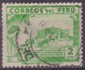 £12 -  PEROU - N° 356 - OBLITERE (2) - Pérou