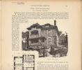 Dossier Complet Plan D´architecture Art Nouveau Architecte Verdonnet Villa Meulen Cottage à Bernay Eure - Documents Historiques