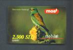 SLOVENIA  -  Remote Phonecard/Mobitel Bird As Scan - Slowenien