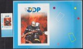 = Pompiers MonTimbraMoi, Lettre Prioritaire -20g Vertical, Pompiers Au Feu, Oeuvres Des Pupilles Orphelins - Personalizzati (MonTimbraMoi)