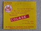 Pochette Ancienne étiquettes Le Gaulois Colasec  .  Voir Photos. - Zonder Classificatie