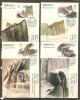 CHINA - 1989  MOUNT HUASHAN MAXIMUM CARDS SET OF 4   (Ref T.140) - 1949 - ... People's Republic