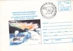 POLAR BEAR, OURS, 1996, COVER STATIONERY, ENTIER POSTAL, OBLITERATION CONCORDANTE, ROMANIA - Orsi