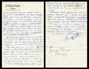 GIUSEPPE PLESSI. ARCHIVISTA E STORIOGRAFO. LETTERA MANOSCRITTA E FIRMATA. 1980. - Autographs