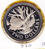 @Y@  Barbados  2 Dollar  1974    (970) - Barbades