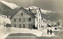 Autriche - Tyrol - St Anton Am Arlberg - Gasthof Pension Goldenes Kreuz - Semi Moderne Petit Format - Bon état Général - St. Anton Am Arlberg