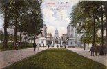25980    Belgio,  Bruxelles,  Le  Parc  Et  La  Place  Royale,  VG  1908 - Foreste, Parchi, Giardini
