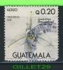 GUATEMALA STAMP - FLOWER - ORCHIDÉE - ORQUIDEAS, 1978 - LYCARTE SKINNERI - - Guatemala