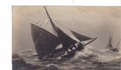 20470 Chalutier Au Plus Près. Voilier Bateau Voilier Peche. Vers 1910 -modele NEMO - Pêche