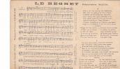 """20472 Chanson Répertoire MAYOL """"Regret """"paroles Telly Gabaroche -eichard HJW Paris - Musique Et Musiciens"""
