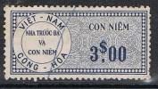 VIET-NAM TIMBRE FISCAL - Vietnam