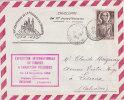 ALGERIE  TIMBRE RELIGIEUX  SAINT-AUGUSTIN 1954 - Brieven En Documenten