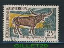 CAMEROON STAMP - BUFFLE CHAIA REGION OF BATOURI AU CAMEROUN - 25f - - Cameroun (1960-...)