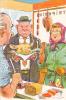 20488 Charcuterie Triperie Commerce. Tete Veau Comme Monsieur. Dessin Paul Ordner -porc Cochon - Magasins