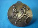 MEDAILLE  ATHLETISME 8ème MINI-MARATHON NOYON-HAM  1983 En Bronze - Athlétisme