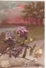 20502 Fleur Rose Opeillet Marquerite Anniversaire - Non Classés
