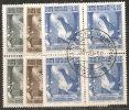 Vaticano 1955 - Usato 209-11 - Santa Rita - Bloc 4x - Vaticano